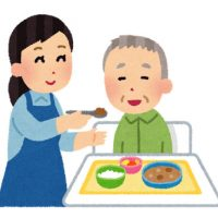 free-illustration-kaigo-syokujikaijo-irasutoya